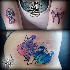 Żeby nie było, że Marek robi same kwasy :P #tattoo #tattoos #geometry #geometric #geometrictattoo #o - welldonetat2