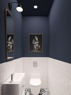 Bewitching Minimalist Furniture Clutter Ideas - Surprising Useful Ideas: Minimalist Kitchen Ikea Storage minimalist kitchen decor floating shelves. Decor, Toilet Room, Bathroom Interior, Small Bathroom, Modern Bathroom, Toilet, Bathroom Decor, Bathroom Renovation, Downstairs Toilet