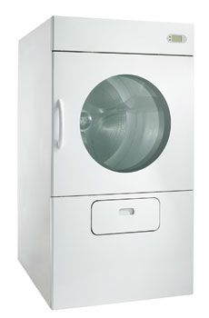 ECODRY ES Series - Most efficient dryer on the market - 30lb, 50lb or 75lb available   - S.A.F.E: Sensor-Activated Fire - Extinguishing system (Standard)  - Residual moisture-control (Standard)  - Double glazed door  - Easy-access lint filter  - Reversing action drum (Standard)  - Fully-programmable (20 cycles)  - Multilingual computer  - Variable height (for health and safety) Industrial Dryers, Laundry Equipment, Laundry Solutions, Health And Safety, Easy Access, Drum, Filter, Action, Marketing