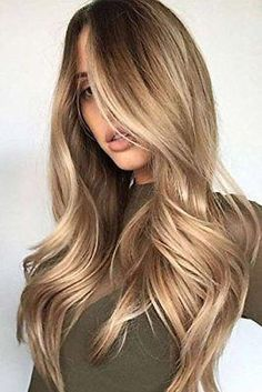 Balayage Blonde Ends - 20 Fabulous Brown Hair with Blonde Highlights Looks to Love - The Trending Hairstyle Hair Color Cream, Ombre Hair Color, Hair Color Balayage, Blonde Color, Brown Hair Colors, Blonde Balayage, Hair Highlights, Haircolor, Brown Highlights