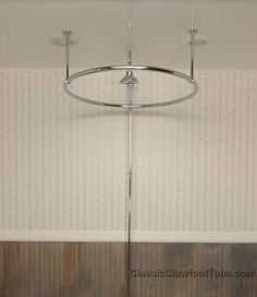 Clawfoot Tub Round Shower Enclosure Cool looking clawfoot tub shower surround  Bathroom Pinterest
