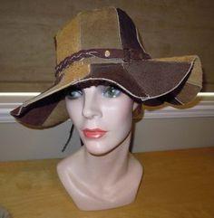 1960's Suede Leather Hippy Hat. Hippie Hats, 70s Hippie, Leather Hats, Suede Leather, Love Hat, Vintage Hats, Dad Hats, Western Cowboy, Hippy