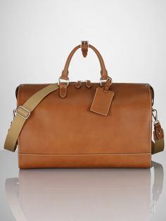 Leather Duffel - Travel Bags   Bags & Business Accessories - RalphLauren.com