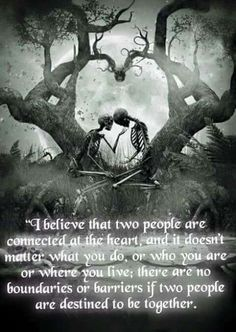 scary love tree white forever moon black edit kiss dark heart skull together skeleton ligafrankorn Skeleton Love, Skeleton Art, Dark Fantasy Art, Dark Art, Tatoo Dog, Dark Love Quotes, Illustration, Gothic Art, Gothic Poems