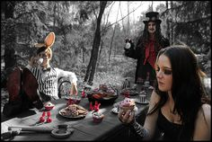 dark alice in wonderland 12 by ClaudineT.deviantart.com on @deviantART