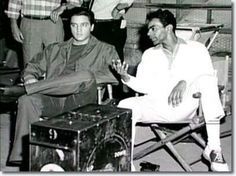 Elvis Presley & Johnny Mathis, 1960
