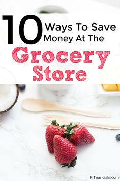 Here are 10 easy ways to save money at the grocery store. This is such a great list.