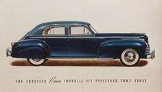 Chrysler Crown Imperial 6 Passenger Sedan 1941
