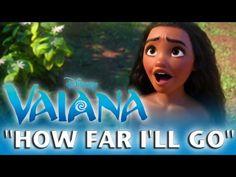 VAIANA: How Far I'll Go ♪ Ich bin bereit - Special Edition in 24 Sprachen | Disney HD - YouTube