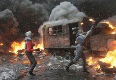 Kiev Transformed Into A Warzone