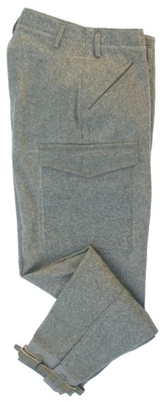 Military Supply House - Swedish Wool Pants - Military Combat Pants
