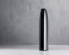 BLOW_5 @ kimseungwoo.com ____________________________ slim air purifier heater convex smooth surface thin black silver gold color easy usability