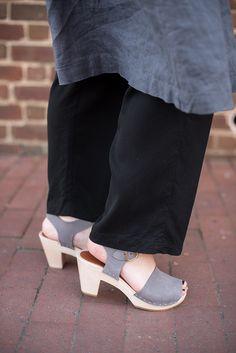 Wearing linen in the