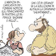 Sergio Staino - l'Unità 3 settembre 2008