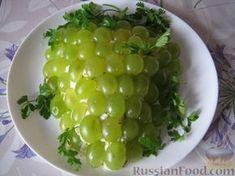 """рецепт: Салат """"Тиффани"""" с курицей и виноградом - шаг №13"""