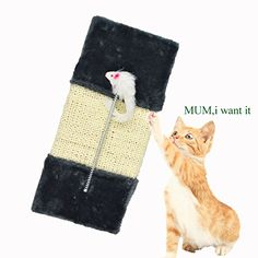 Enjoying Pet Sisal Scratcher Cat Scratching Toy *** Discover this special cat product, click the image : Cat scratching post Cat Training Pads, Cat Id Tags, Cat Shedding, Cat Scratching Post, Cat Scratcher, Cat Fleas, Cat Memorial, Image Link, Pin Image