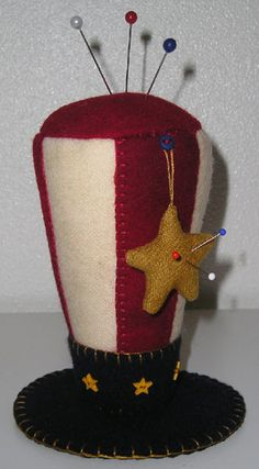 USA Pincushion @The Quilted Crow: Sorry, the item is no longer in stock.