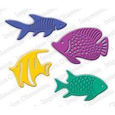 Impression Obsession Dies, Fish Set -