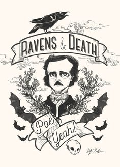 The Bibliophile Files Edgar Allan Poe, Annabel Lee, Baltimore, Poe Quotes, 7 Arts, Quoth The Raven, Hp Lovecraft, Allen Poe, Gothic