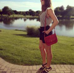 Summer style #ootd  Instagram @frillyandflannel
