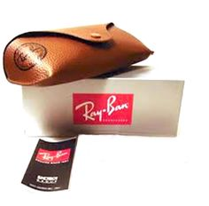 7c817fefc4 Ray Ban Sunglasses brown color + cleaning cloth + box