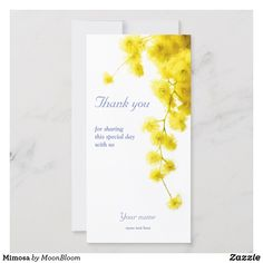 Shop Mimosa Save The Date created by MoonBloom. Good Cheer, Custom Thank You Cards, All The Way, Personal Photo, Save The Date, Special Day, Wedding Invitations, Recycling, Logo Design