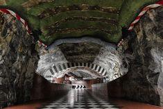 Stunning Underground Art Inside the Stockholm Metro - My Modern Metropolis