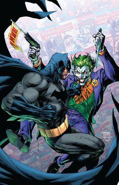Joker Dc Comics, Joker Comic, Arte Dc Comics, Batman Comic Art, Joker Art, Marvel Comics, Batman Robin, Jim Lee Batman, Gotham Batman
