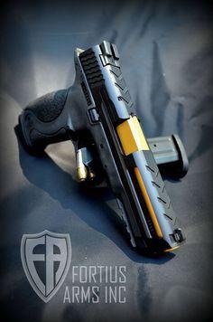Pistol. Standard zombie protection.