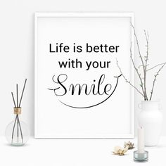 Ideas For Computer Wallpaper Quotes Smile Keep Smiling Quotes, Smile Quotes, New Quotes, Happy Quotes, Motivational Quotes, Funny Quotes, Inspirational Quotes, Quote Posters, Quote Prints