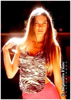 Modelo argentina, Gabriela Creciente.