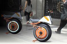 Half a Motorcycle, Twice the Fun | Yanko Design
