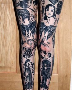 A Traditional Tattoo Traditional Butterfly Tattoo, Neo Traditional Tattoo, Traditional Tattoo Leg Sleeve, Black Tattoos, Body Art Tattoos, Cool Tattoos, Black And Grey Tattoos Sleeve, Tatoos, Piercings