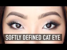 Softly Defined Cat Eye (heyclaire on YouTube) // Beautiful! A softer look I could actually pull off. :)