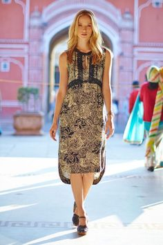 Suraja Dress #Anthropologie