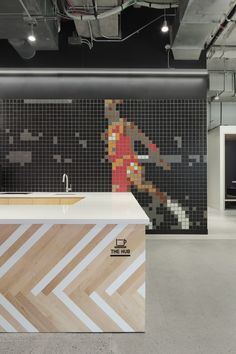 Image 3 of 18 from gallery of Nike New York Headquarters / WSDIA | WeShouldDoItAll. Photograph by Floto+Warner