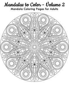 طرح خام نقطه کوبی , طرح خام ویترای Mandala Art, Mandala Pattern, Zentangle Patterns, Pattern Art, Zentangles, Pattern Coloring Pages, Mandala Coloring Pages, Free Coloring Pages, Printable Coloring Pages