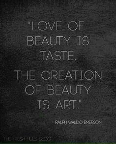 Beauty vs Art