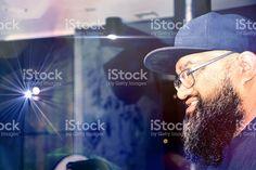 Hipster Polynesian Guy royalty-free stock photo