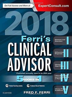 Free medical books oxford handbook of emergency medicine medical ferris clinical advisor 2018 5 books in 1 1e ferris medical fandeluxe Gallery