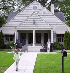 modern bungalows | is going on right away. On a street lined with charming bungalows ...