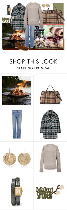 """""""Camping & smores"""" by namekristy ❤ liked on Polyvore featuring Frontgate, Genetic Denim, MSGM, Annette Ferdinandsen, Maiyet and Gucci"""