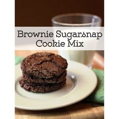 Brownie Sugarsnap Cookie Mix www.theteeliebog.com  The long wait for the best cookie is over! Chewy? Check. Chocolatey? Check. Melts in your mouth? Double check! Greet your neighbors and friends by wishing them a lovely morning by sending over these cookies. This is a sumptuous treat they'll never forget. #TeelieBlog