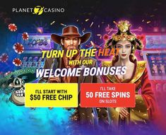 The Planet 7 casino appreciates each player and does not cease to reward with generous gifts. Сhoose a bonus and get a gift $50 Free Chip or 50 Free Spins. $50 Free Chip bonus at Planet7 Casino comes with x30 wagering requirement. You can get no deposit free spins activating one of the bonus code. No deposit Free Spins will be credited automatically upon redemption of coupon code. The exclusive bonuses Planet 7 Casino are equally enticing and give you the opportunity to win more money. Best Online Casino, Online Casino Bonus, Best Casino, Money Games, Spinning, Opportunity, Planets, Coupon, Chips