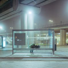 lumin0l:  waiting for the bus by nasone on Flickr.