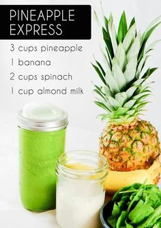 Simple smoothie Pineapple Express
