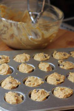 New Nostalgia: Banana Pumpkin Muffins