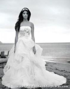 Vera Wang Beach Wedding Dress