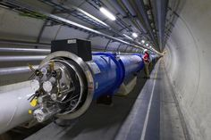 The Large Hadron Collider in Switzerland, taking a break from the Higgs boson hunt, will spend time probing conditions of the early universe, physicists said. Science News, Science And Technology, Particle Collider, Particle Accelerator, Large Hadron Collider, Higgs Boson, Quantum Physics, Dark Matter, Science And Nature