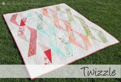 Buttons and Butterflies: Half Rectangle Triangles {Tutorial} - I'm making this right now! Love it.